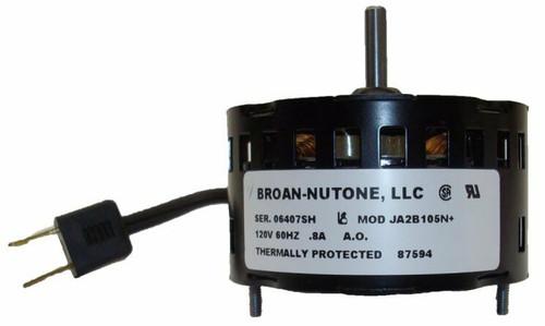 87594 | Nutone 671R Motor (JA2B105, 5KSM84DFK141P) 1650 RPM, .8 amps, 120V # 87594