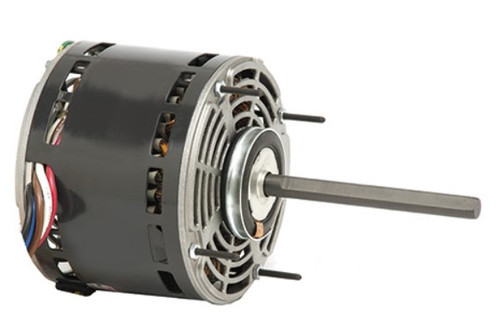 "1863 Nidec | 1/4 hp 1075 RPM 3-Speed 115V; 5.6"" Blower Motor"