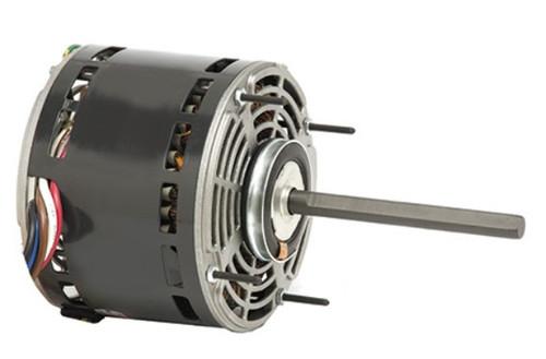 "1/4 hp 1075 RPM 3-Speed 115V; 5.6"" Blower Motor  Nidec # 1863"