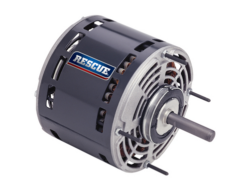 "5469 Nidec | 1/3 hp 1625 RPM 4-Speed 208-230V; 5.6"" Blower Motor"