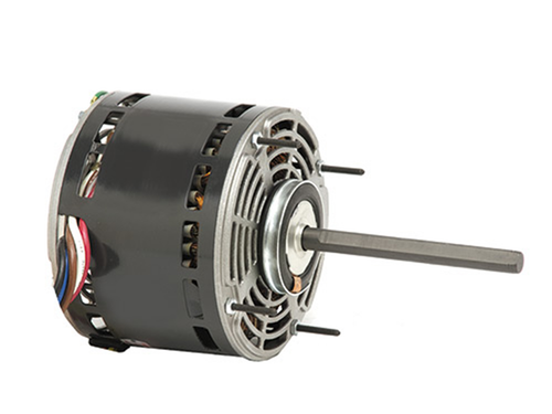"1695 Nidec | 1/2 hp 1625 RPM 3-Speed 208-230V; 5.6"" Blower Motor"