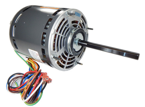 "8904 Nidec | 3/4 hp 1075 RPM 3-Speed 115V; 5.6"" Blower Motor"