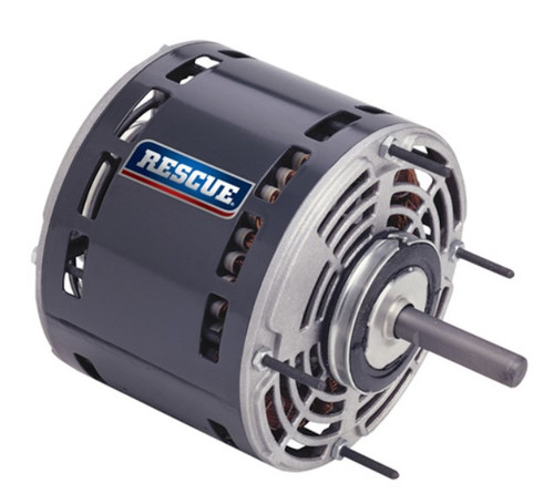 "5471 Nidec | 3/4 hp 1075 RPM 4-Speed 208-230V; 5.6"" Blower Motor"