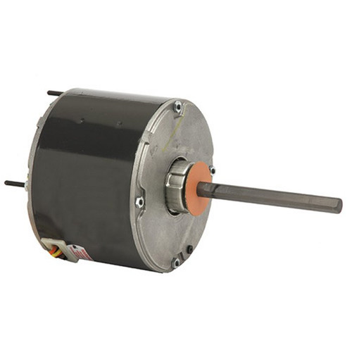 "3736 Nidec | 1/4 hp 1075 RPM 1-Speed 460V; 5.6"" Condenser Motor"