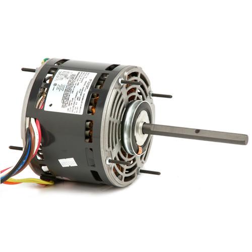 "8947 Nidec   3/4 hp 1075 RPM 2-Speed 460V; 5.6"" Blower Motor"
