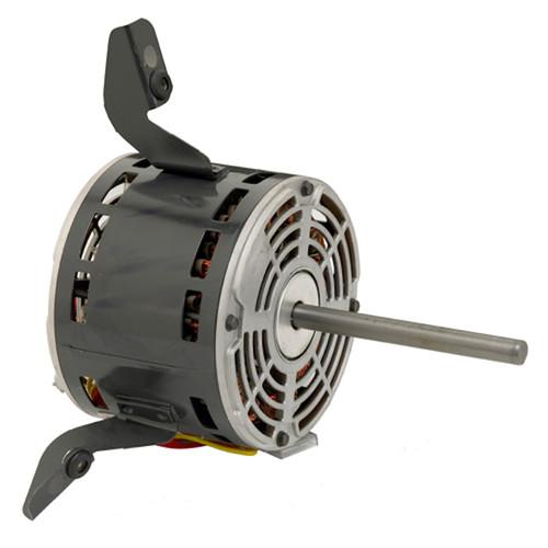 "3783 Nidec   1/4 hp 1075 RPM 3-Speed 115V; 5.6"" Blower Motor"