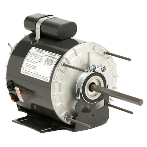 "1384 Nidec | 1/4 hp 1075 RPM 1-Speed 115V; 5.6"" Blower Motor"