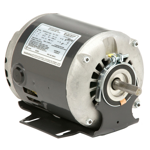 "4114 Nidec | 1/2 hp 1725 RPM 1-Speed 115/230V; 6.5"" Blower Motor"