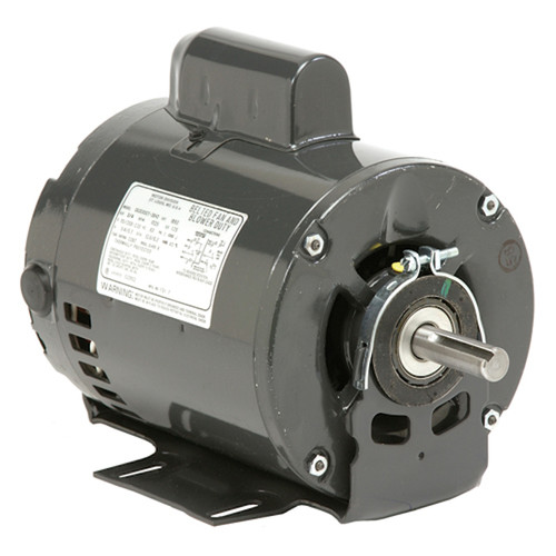 "4242 Nidec | 1-1/2 hp 1725 RPM 1-Speed 115/208-230V; 6.5"" Blower Motor"