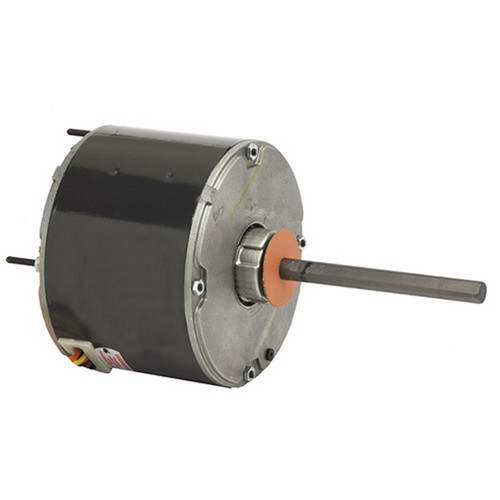 "3738 Nidec | 1/2 hp 1075 RPM 1-Speed 460V; 5.6"" Condenser Motor"