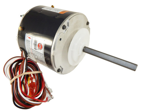 "5465 Nidec | 1/2-1/5 hp 1075 RPM 2-Speed 208-230V; 5.6"" Condenser Motor"