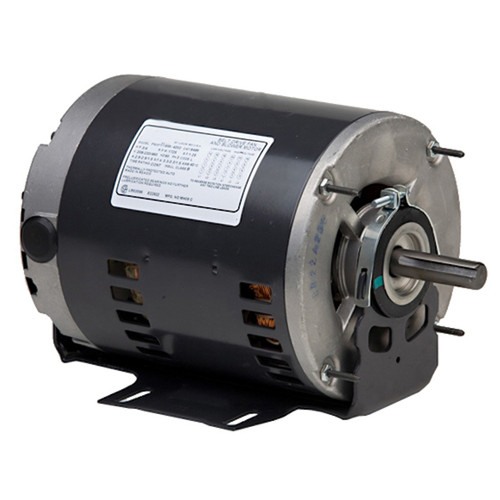 "8498 Nidec | 1 hp 1725 RPM 1-Speed 208-230/460V; 6.5"" Blower Motor"