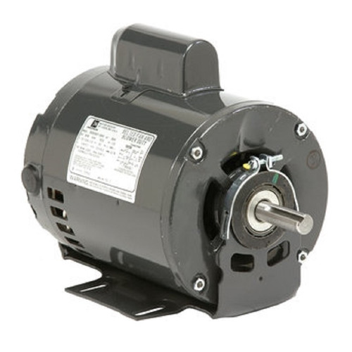 "2574 Nidec | 1 hp 1725/1140 RPM 2-Speed 115V; 6.5"" Blower Motor"