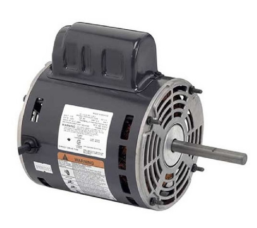 "4748 Nidec | 1/2 hp 1650 RPM 1-Speed 115/230V; 5.6"" Blower Motor"