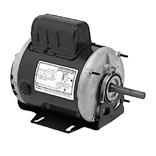 "1195 Nidec | 1/2 hp 1140 RPM 1-Speed 115/230V; 5.6"" Blower Motor"