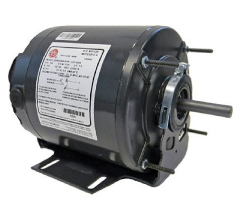 "6326 Nidec | 1/4 hp 1725 RPM 1-Speed 115V; 6.5"" Blower Motor"