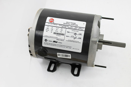 "D14B2N4Z Nidec | 1/4 hp 1725 RPM 1-Speed 115V; 5.6""  Blower Motor"