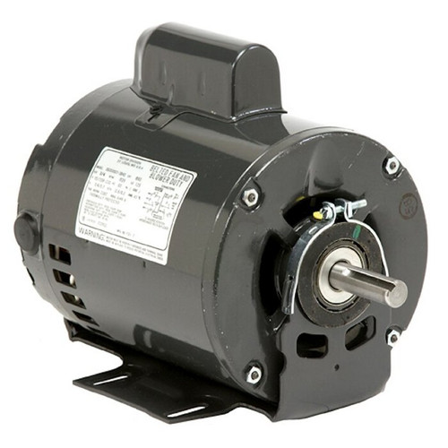 "1660 Nidec | 3/4 hp 1725 RPM 1-Speed 115/230V; 6.5""  Blower Motor"