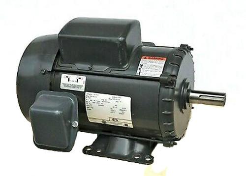 "5 hp 3505 RPM 184T TEFC 230V; 10.6"" Nidec Electric Motor # T5C1K18"