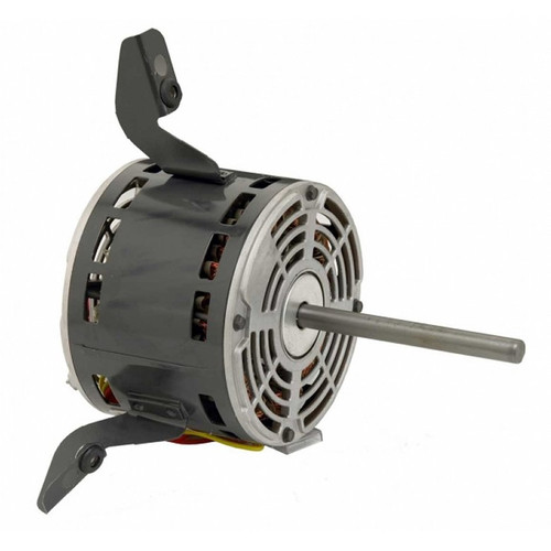 "4130 Nidec | 1/4 hp 975 RPM 3-Speed 115V; 5"" Blower Motor"