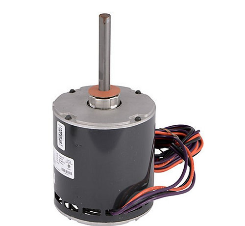 "8068 Nidec | 1 hp 1080 RPM 1-Speed 200V; 5.6"" Condenser Fan Motor"