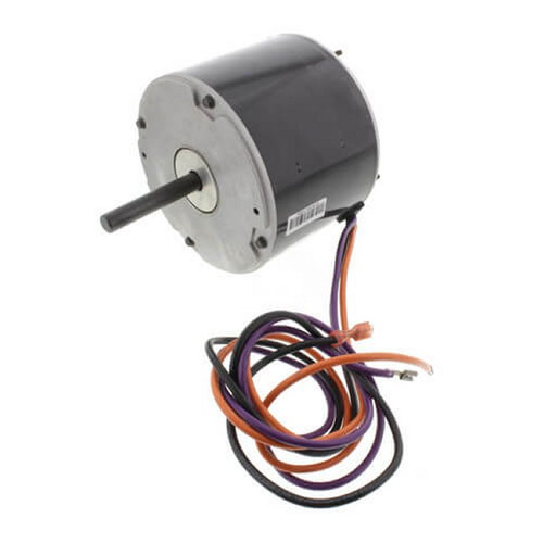 "LX7931 Nidec | 1/4 hp 825 RPM 1-Speed 208-230V; 5.6"" Condenser Fan Motor"