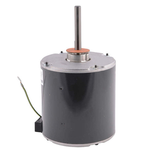 "1128 Nidec | 1/2 hp 1075 RPM 1-Speed 460V; 5.6"" Condenser Fan Motor"