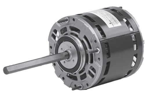 "8066 Nidec | 3/4 hp 1075 RPM 3-Speed 208-230V; 5.6"" Blower Motor"