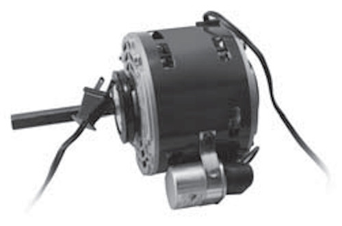 "2166P Nidec | 1/6 hp 1050 RPM 1-Speed 115V; 5"" Blower Motor"