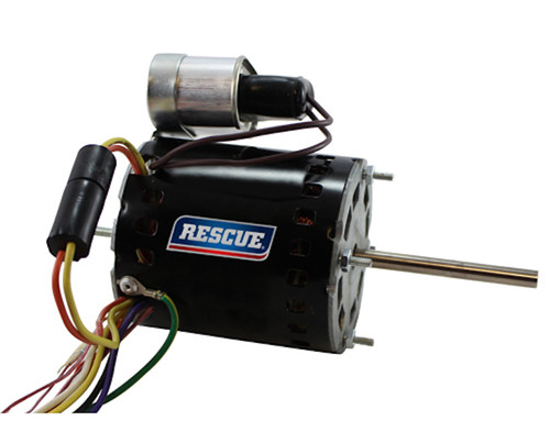 "9657 Nidec | 1/10 hp 1550 RPM 1-Speed 230V; 5.6"" Condenser Motor"