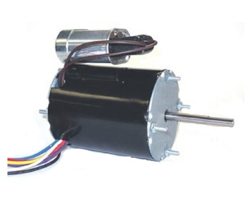"9624 Nidec | 1/50-1/70 hp 1550 RPM 1-Speed 115V; 3.3"" Condenser Motor"