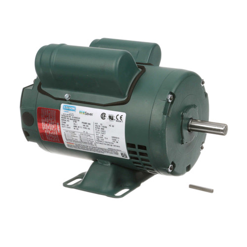1/2 hp 3450 RPM 56 Frame 115/208-230V Open Drip Leeson Electric Motor # E100052