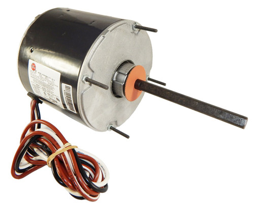 "3851 Nidec | 1/4 hp 1075 RPM 1-Speed 208-230V; 5.6"" Condenser Motor"