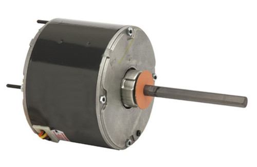 "1296 Nidec | 1/3 hp 825 RPM 1-Speed 575V; 5.6"" Condenser Motor"