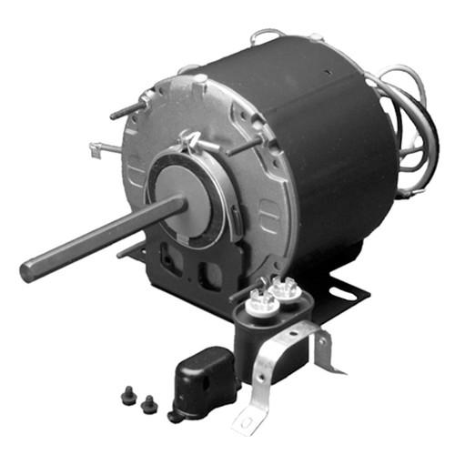 """1/4 hp 1075 RPM 1-Speed 230V; 5.6"""" Condenser Motor Nidec # 3846"""