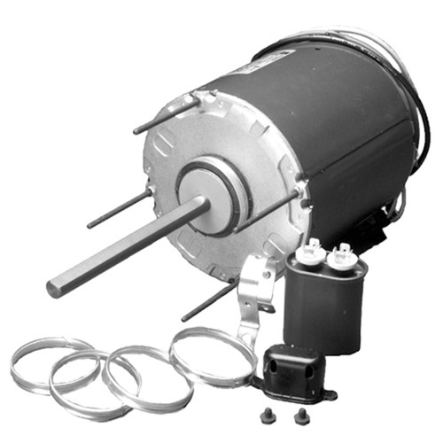 "7041 Nidec | 1/2 hp 825 RPM 1-Speed 208-230V; 5.6"" Condenser Motor"