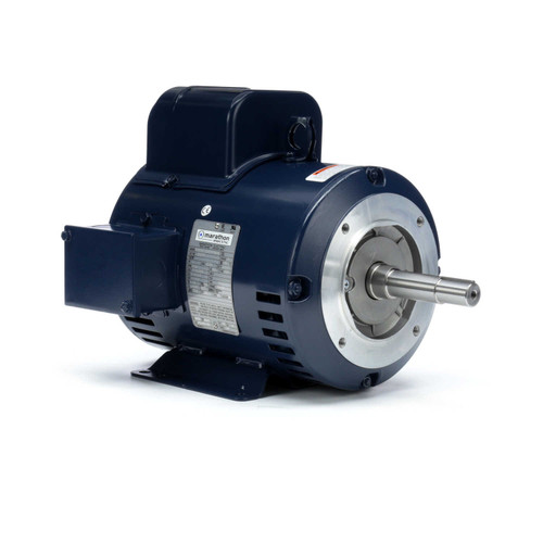 Z407A Marathon 3 hp 1750 RPM 184JM Frame 230V ODP Marathon Close Couple Pump Motor