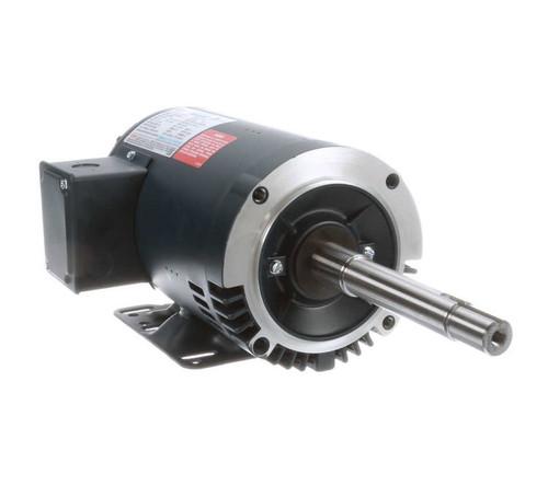 1 hp 1760 RPM 143JP Frame ODP 230/460V Leeson Electric Motor # 122093