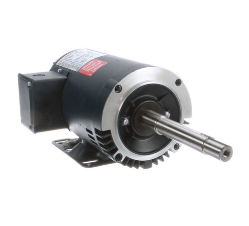 122093.00 Leeson |  1 hp 1760 RPM 143JP Frame ODP 230/460V