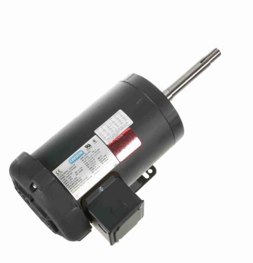 122113.00 Leeson |  2 hp 1800 RPM 145JP Frame TEFC 230/460V