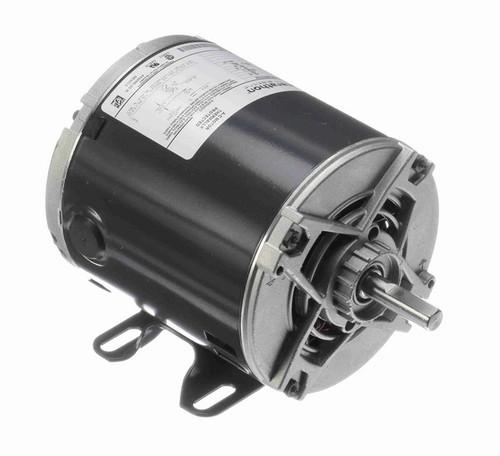 1/6 hp 1800 RPM 48 Frame 115V Open Drip Marathon Electric Motor # 4349