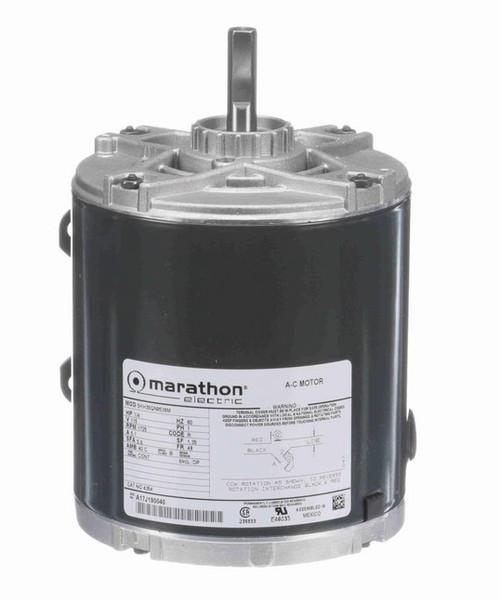 4354 Marathon 1/4 hp 1800 RPM 48 Frame 115V Open Drip Marathon Electric Motor