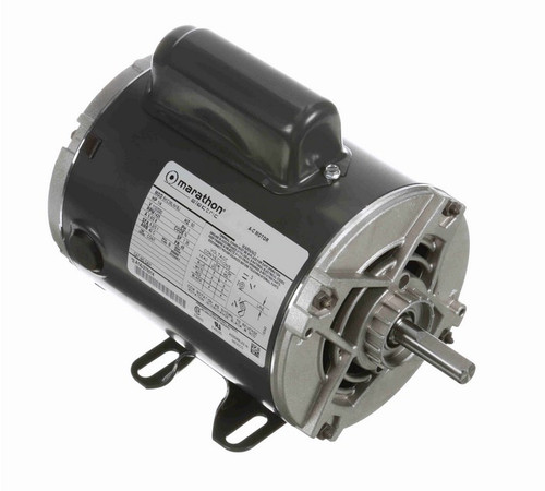 1/4 hp 1500 RPM 48 Frame 110/220V 50 hz. Open Drip Marathon Electric Motor # C431