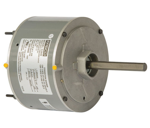 "Fasco D2840 Motor | 1/5 hp 1075 RPM CW 5.6"" Diameter 208-230 Volts (Rhemm Rudd)"