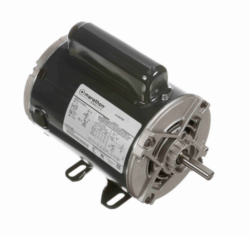 1/2 hp 3000 RPM 48 Frame 110/220V 50 hz. Open Drip Marathon Electric Motor # C459