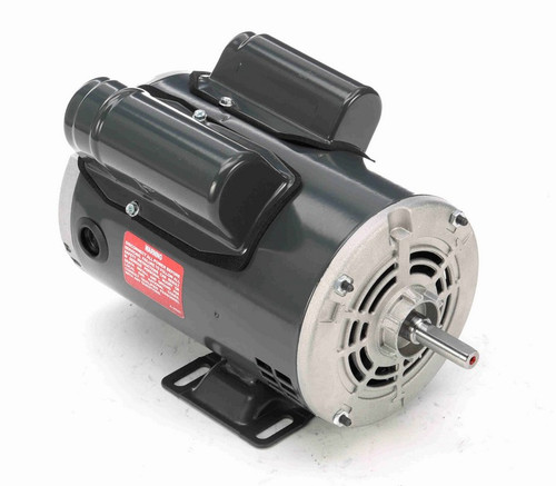 1/2 hp 1800 RPM 48 Frame 115/230V Open Drip Marathon Electric Motor # C164A