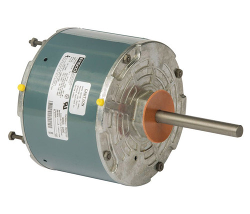 "Fasco D2842 Motor | 1/6 hp 825 RPM CW 5.6"" diameter 208-230 Volts (Rhemm Rudd)"