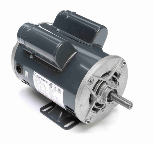 C176A Marathon 3/4 hp 1800 RPM 56 Frame 115/208-230V Open Drip Marathon Electric Motor