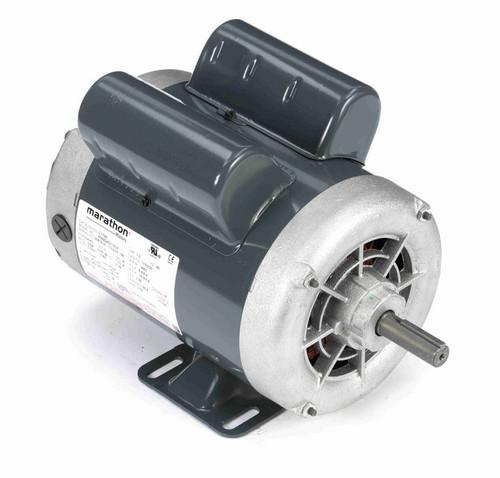 1 hp 3600 RPM 56 Frame 115/230V Open Drip Marathon Electric Motor # C179A