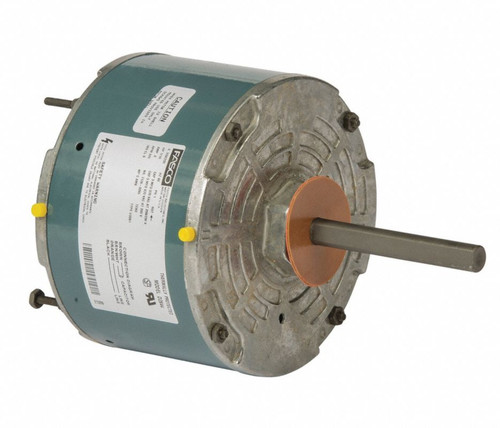 "Fasco D2844 Motor | 1/10 hp 825 RPM CW 5.6"" Diameter 208-230 Volts (Rheem Rudd)"